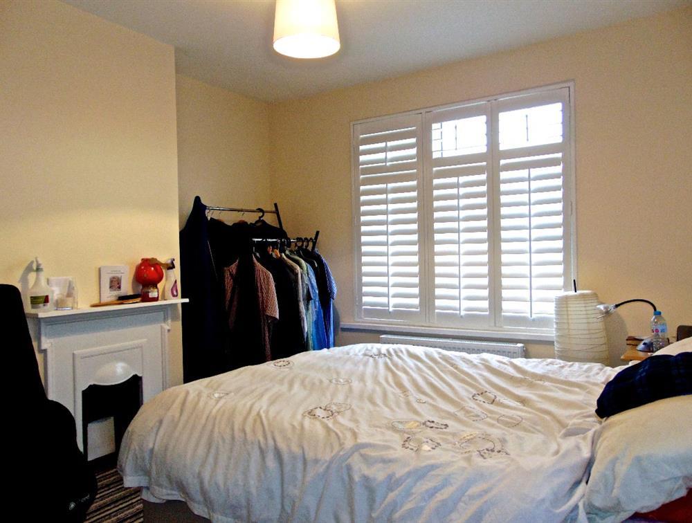 Front facing bedroom