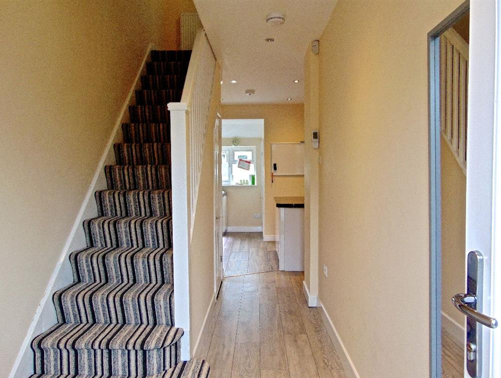 Hallway/stairs to first floor